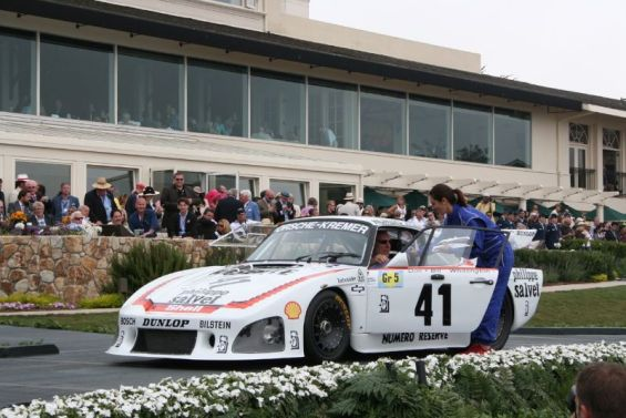 1979 Porsche 935 K3 at Pebble Beach Concours (photo: Bruce Meyer Collection)