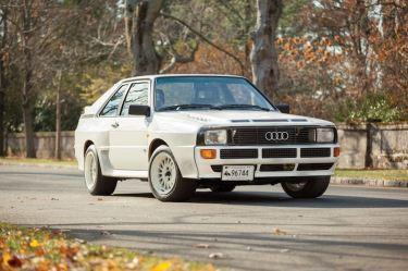1984 Audi Sport Quattro (photo: Erik Fuller)