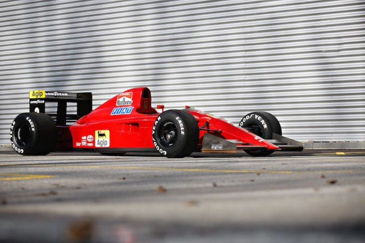 1990 Ferrari 641/2 Formula 1 (Photo: Mathieu Heurtault)