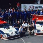 Le Mans Nissan 300ZX at Monterey Reunion 2014
