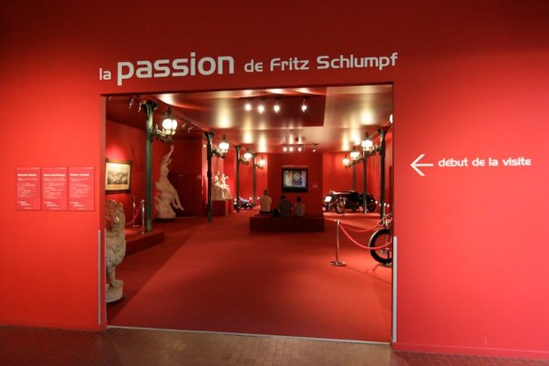 Entrance to the Schlumpf Collection