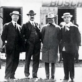 Indianapolis Motor Speedway Founders Carl Fisher, James Allison, Arthur Newby and Frank Wheeler