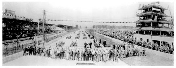 1916 Indy 500 Panoramic View
