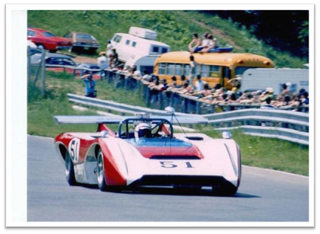 Lola T222 raced in period Can-Am