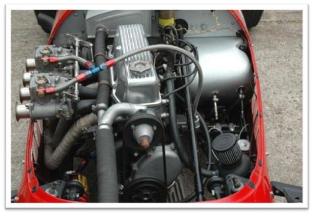 Stanguellini Formula Junior For Sale, engine