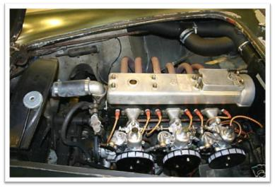 AC Aceca engine
