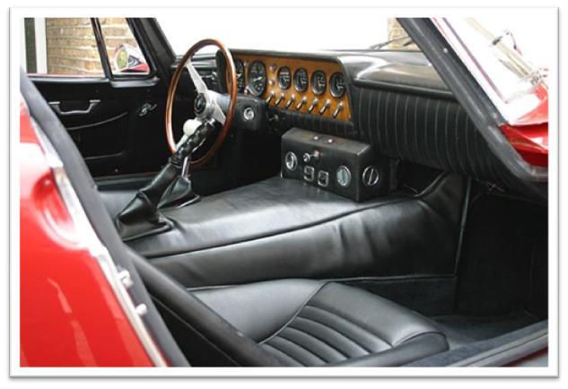 Bizzarrini 5300 GT Strada Interior