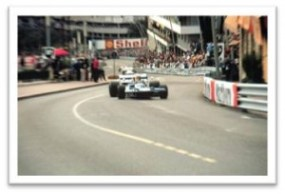 Tyrrell at Monaco Grand Prix