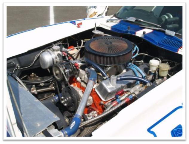 Chevrolet Corvette La Carrera Panamericana Race Car Engine