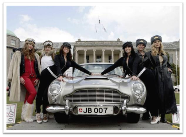 Goodwood Festival of Speed James Bond Aston Martin 007