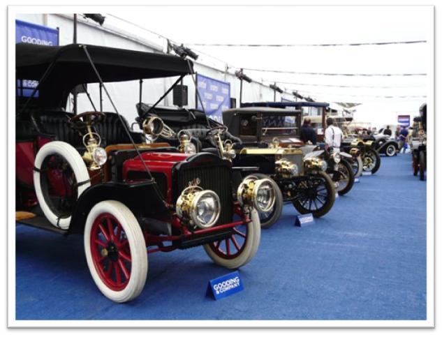 Carl J. Schmitt Collection of eleven Brass Era automobiles