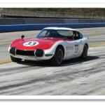 Historic Toyotas Featured at Monterey Historic Races