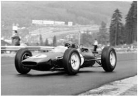 1962 Lotus 25 Formula 1 Race Car at Spa