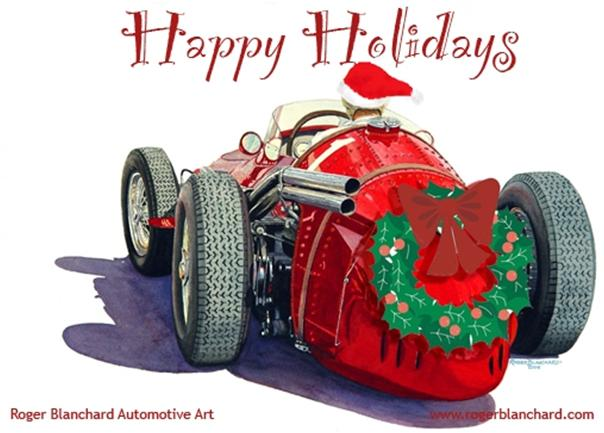 Happy Holidays From Sports Car Digest 2008
