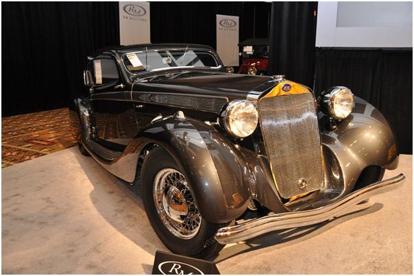 1937 Delage D8-120 Aerosport Coupe