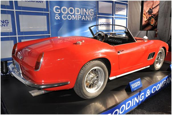 1960 Ferrari 250 GT SWB California Spyder Side