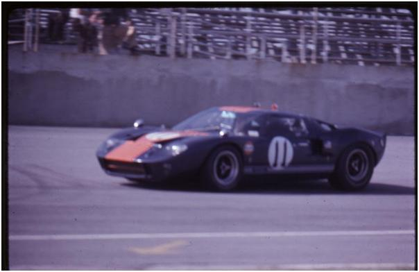 John Wyer Automotive Ford GT40 Mk II - Dick Thompson and Jacky Ickx