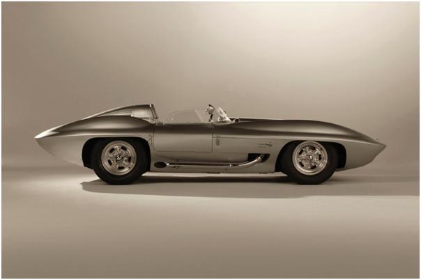 1958 Corvette Stingray Race Car Side