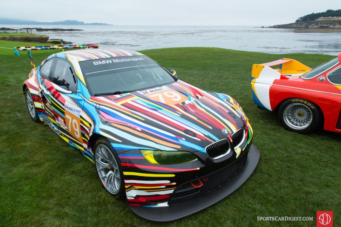 2010 BMW M3 GT2 Jeff Koons Race Car