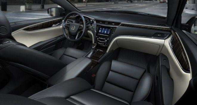 2013 Cadillac XTS Platinum Collection Interior