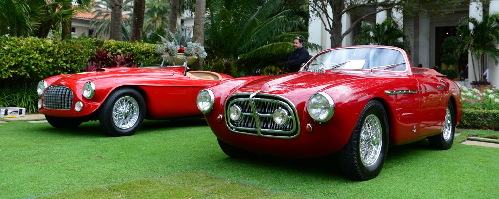 Ferrari 212 Export Vignale Cabriolet and Export Barchetta