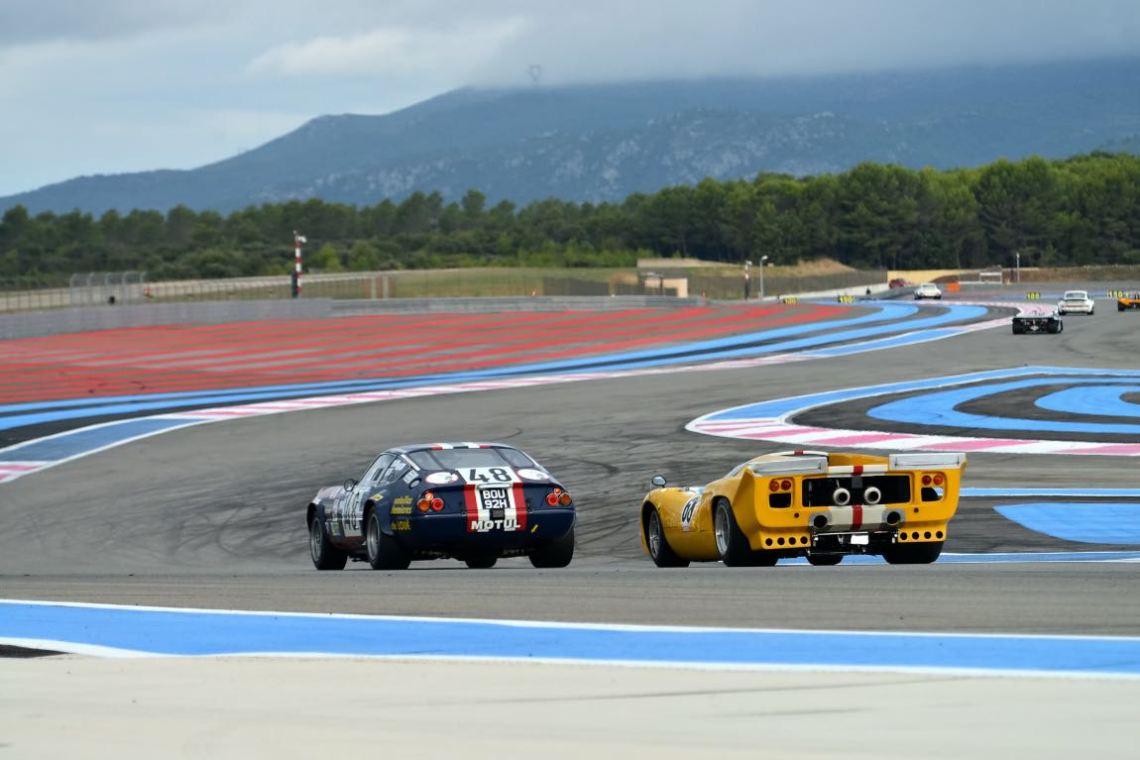 Ferrari 365 GTB/4 Daytona and Lola T70 MK III B