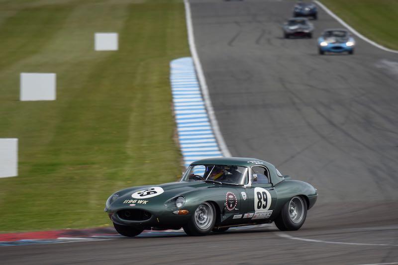 Jaguar E-Type of JD Classics (photo: John Retter)