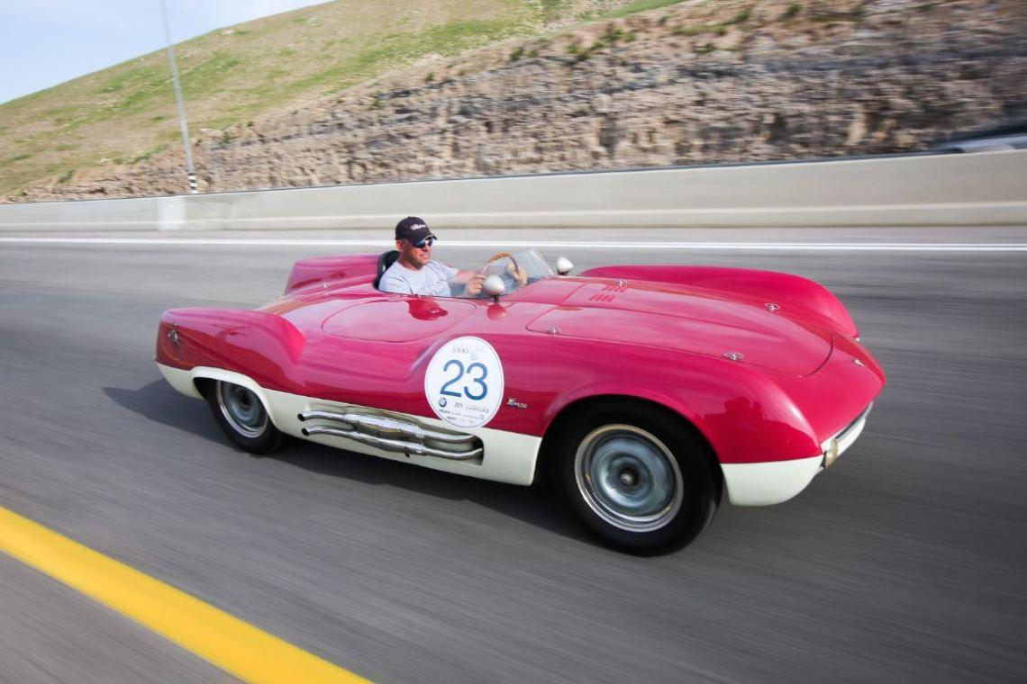1955 Abarth 207A Spider Boano