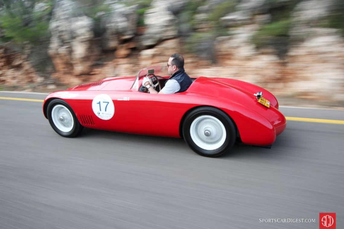 1952 OSCA MT4 on the Holy Land 1000 Tour (photo: Ronen Topelberg)
