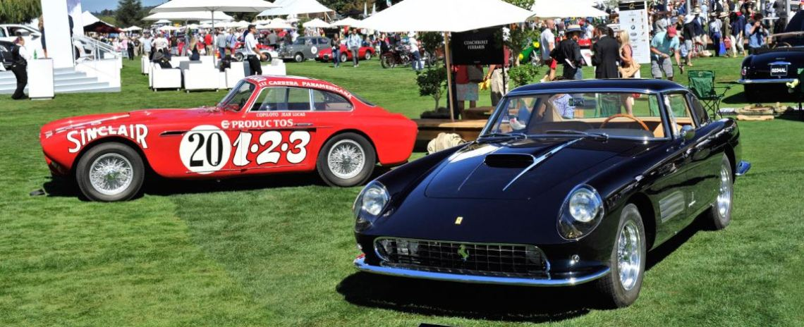 1952 Ferrari 340 Mexico and 1959 Ferrari 410 Superamerica Series III