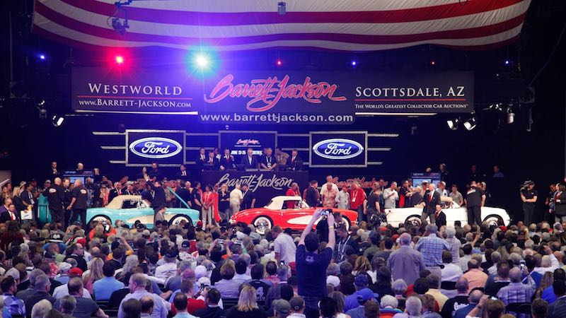 BarrettJackson Scottsdale Auction Results - Westworld scottsdale car show