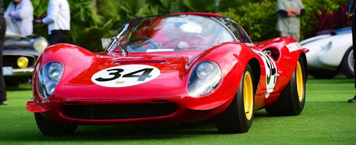 1966 Ferrari 206 SP Dino- s/n: 026
