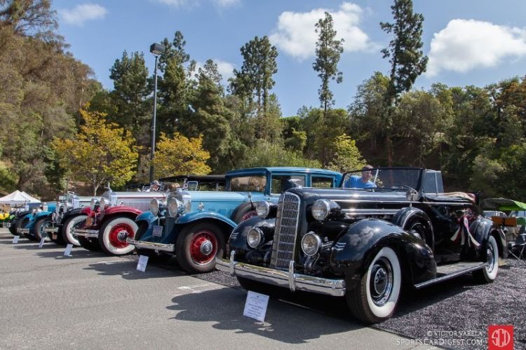 Greystone Mansion Concours d'Elegance 2016