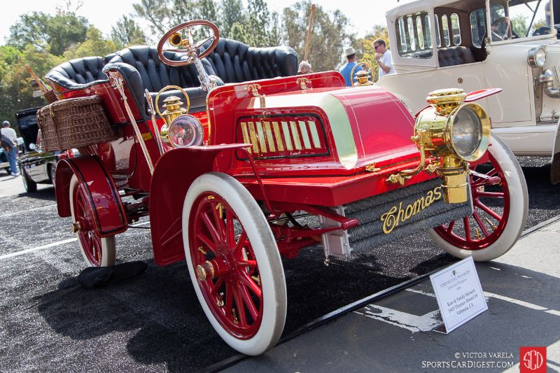 Best of Show Concours d'Elegance Winner, the 1903 Thomas Model 18