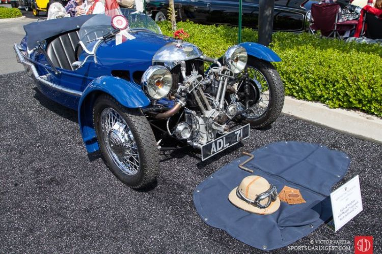 1935 Morgan Supersport of Edward Berghino