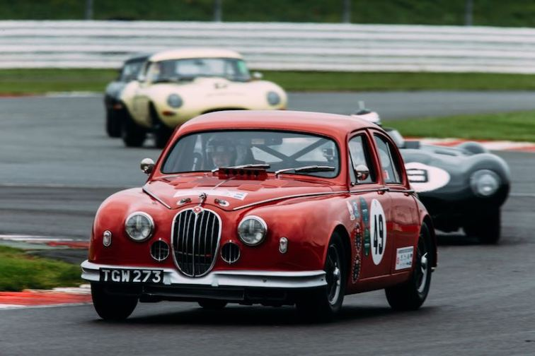 Jaguar Mark I of Osborne-Radcliffe (photo: Malcolm Griffiths)