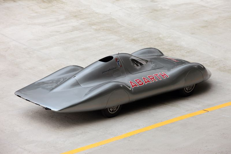 "1960 Abarth 1000 Bialbero Record Car ""La Principessa"" (photo: Piotr Degler)"