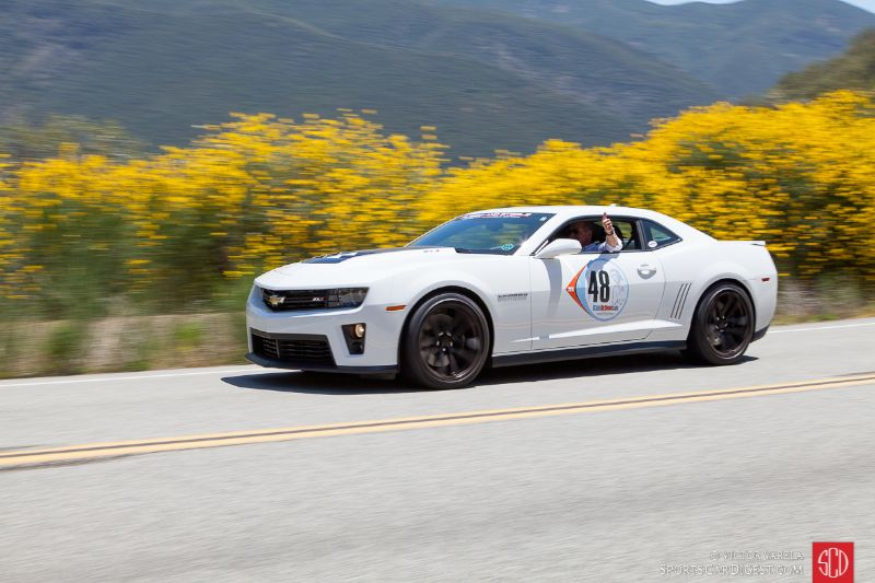 John Beamis and his Chevy Camaro ZL1