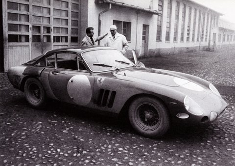 Ferrari 330 LMB 4381SA with Enzo Ferrari