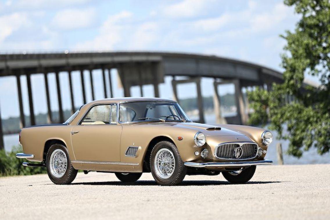 1962 Maserati 3500 GT (photo: Mathieu Heurtault)