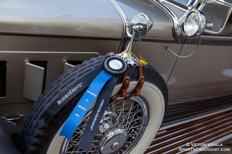 1929 Packard 645 Dual Cowl Phaeton by Dietrich - owned by Dana & Lianne Graham