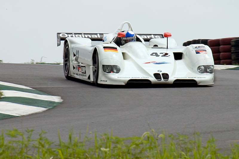 1999 BMW V12 LMR to race at the Rolex Monterey Motorsports Reunion 2016
