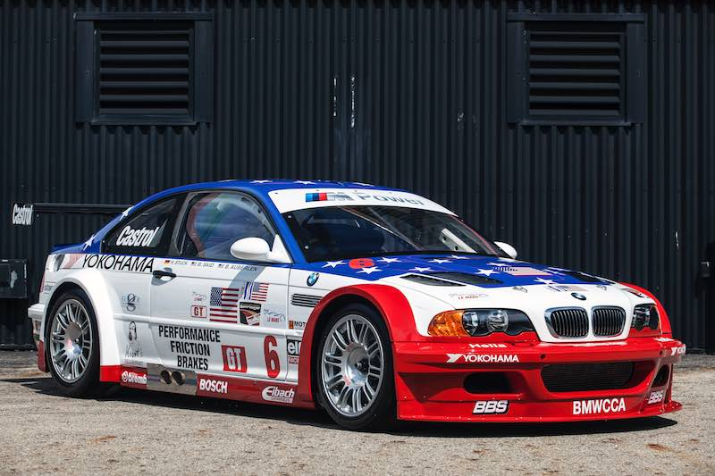 2001 BMW M3 GTR (E46) to race at the Rolex Monterey Motorsports Reunion 2016