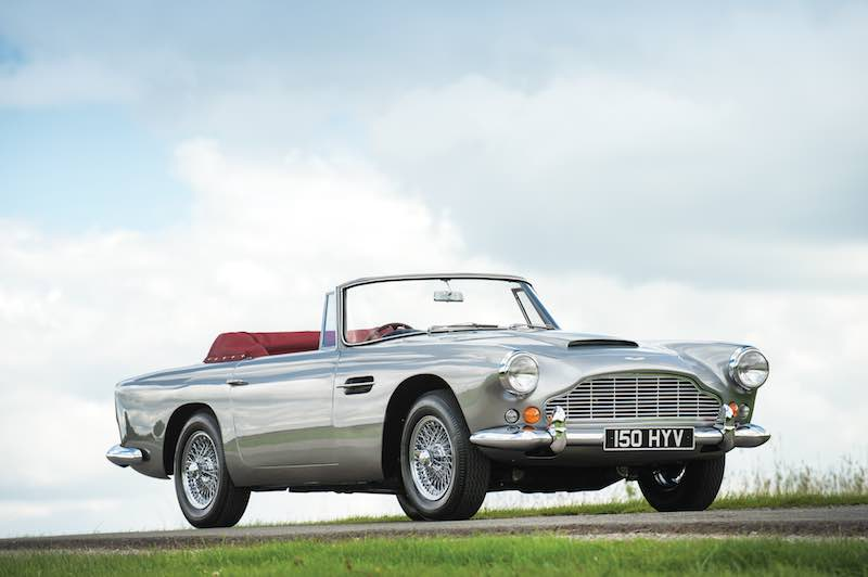 1963 Aston Martin DB4 Series V Convertible (photo: Tom Wood)