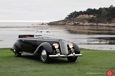 1936 Lancia Astura Pinin Farina Cabriolet (photo: Richard Owen)
