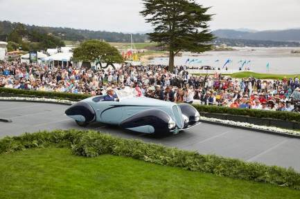 1937 Delahaye Type 135M (photo: Steve Burton)
