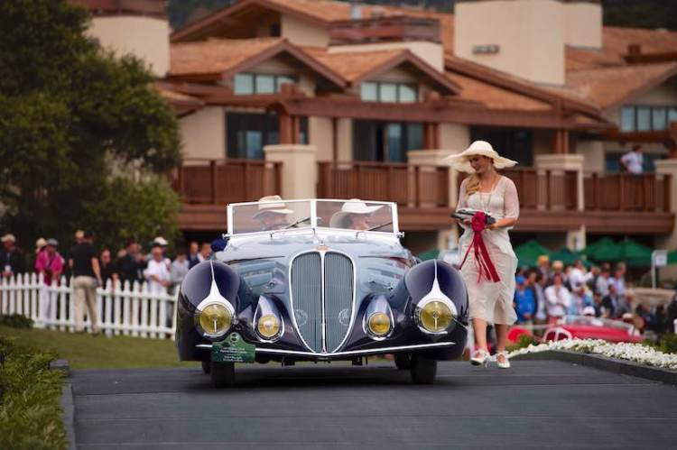 1937 Delahaye Type 135M (photo: Drew Phillips)