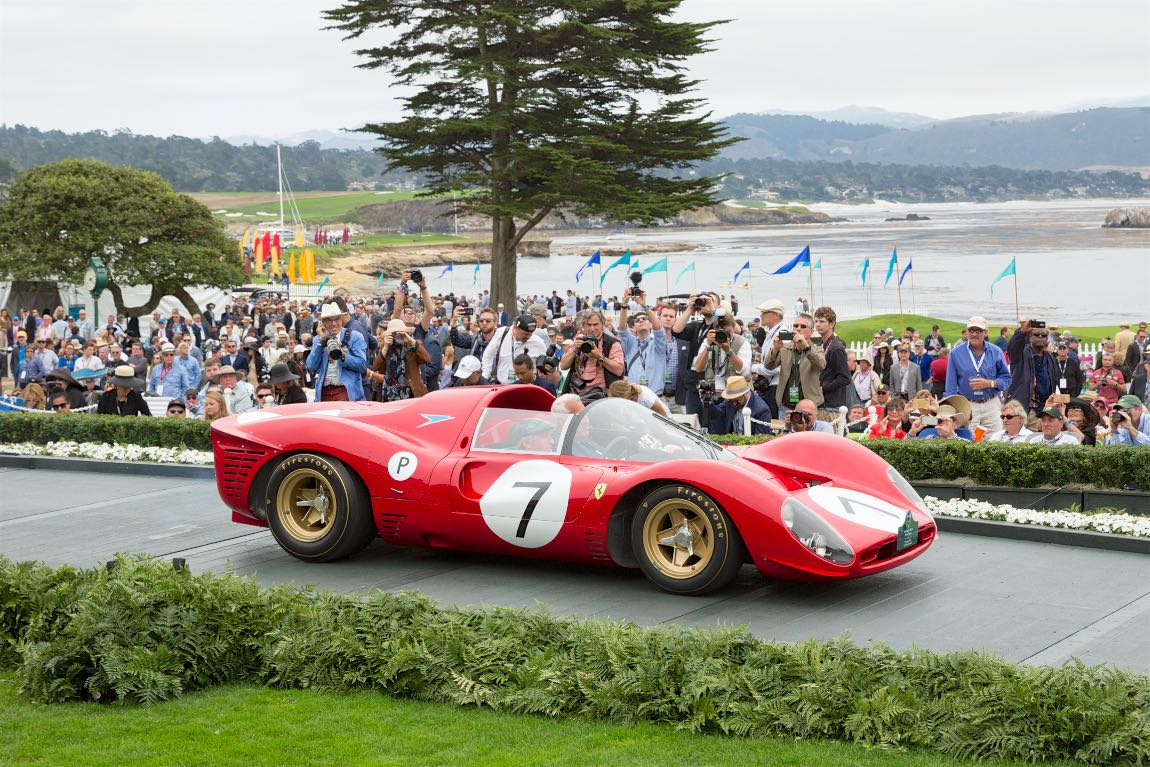 Our favorite race cars from the 2016 pebble beach concours for Pebble beach collection