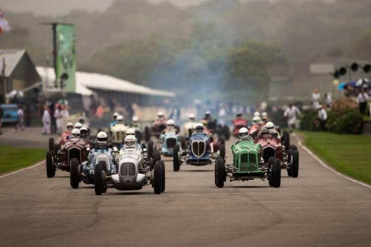 Goodwood Trophy Race Start, 2016 Goodwood Revival (Photo: Nick Dungan)