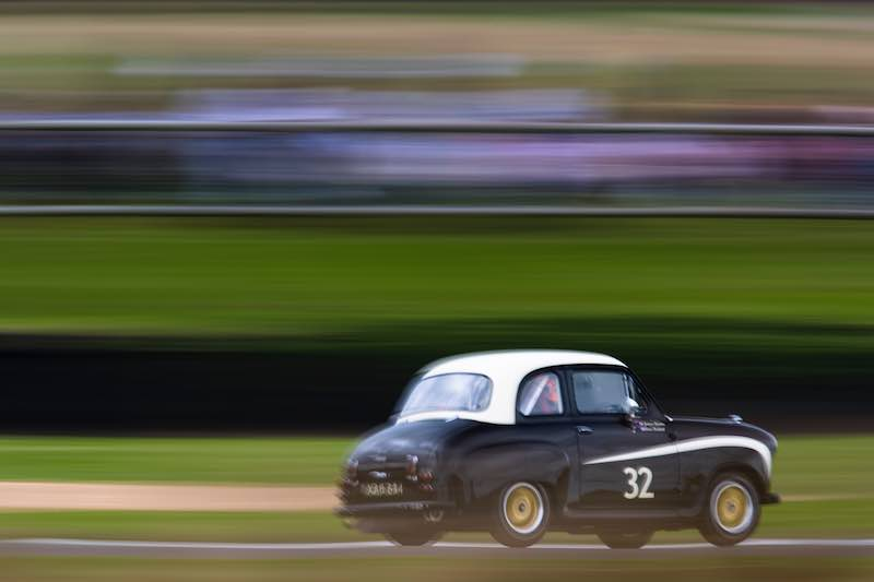Austin A35, St. Mary's Trophy, Goodwood Revival 2016 (Photo: Drew Gibson)